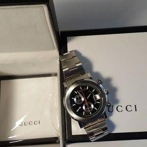 Authentic Gucci Chronograph Men's Watch YA101309